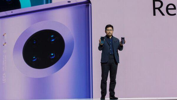 La presentación de Huawei Mate 30 Pro - Sputnik Mundo