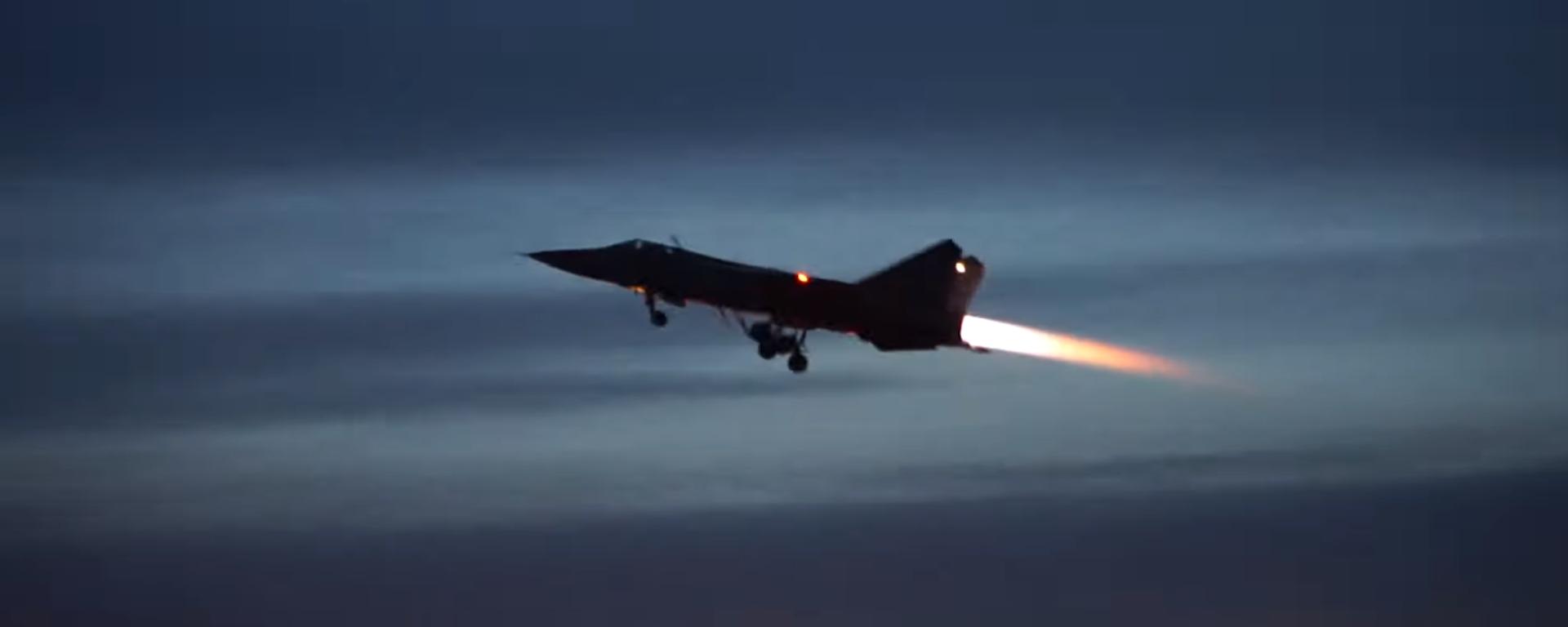 Los MiG-31 rusos realizan maniobras nocturnas en la estratosfera  - Sputnik Mundo, 1920, 25.01.2021