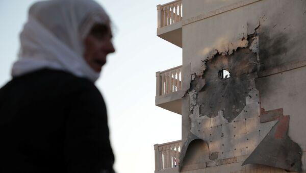 Consecuencias de los ataques desde el territorio sirio, Nusaybin, Turquía - Sputnik Mundo