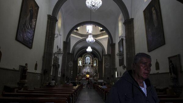 Iglesia dedicada a San Hipólito en la Ciudad de México, la primera construcción colonial después de la conquista de los españoles a Tenochtitlán - Sputnik Mundo
