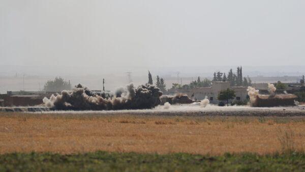 La operación turca en Siria - Sputnik Mundo