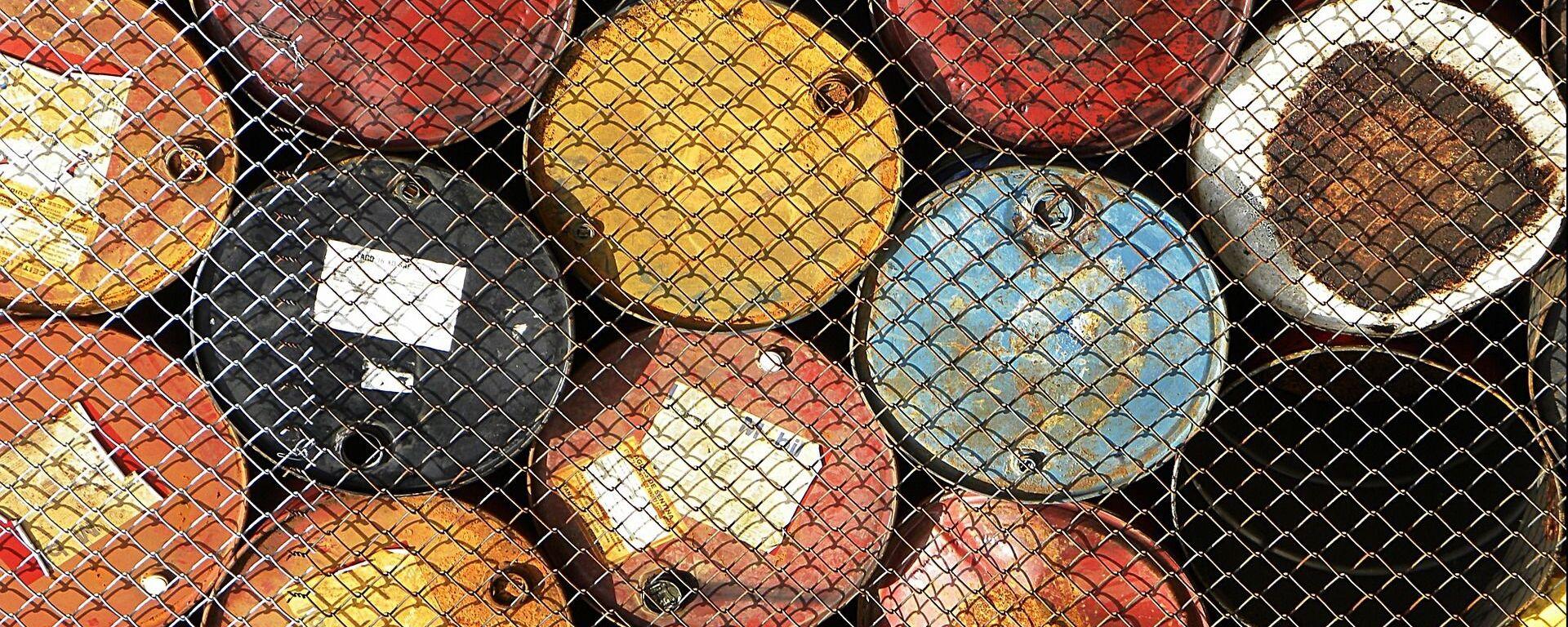 Barriles de petróleo - Sputnik Mundo, 1920, 03.03.2021