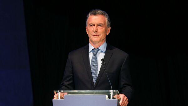 Mauricio Macri, presidente argentino - Sputnik Mundo