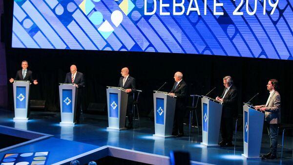 El debate presidencial en Argentina - Sputnik Mundo