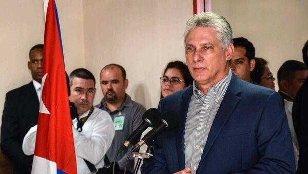 Miguel Díaz-Canel, el presidente cubano - Sputnik Mundo
