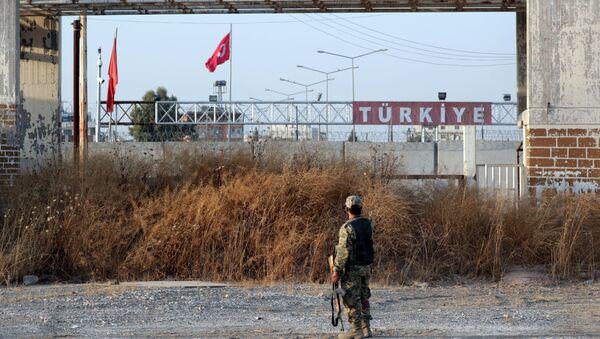 La ciudad siria de Tel Abiad bajo control de Turquía - Sputnik Mundo