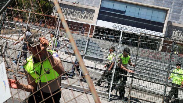 La situación en Quito, la capital de Ecuador - Sputnik Mundo