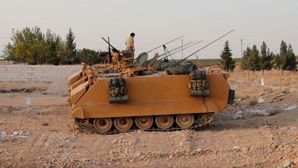 Vehículos blindados de Turquía - Sputnik Mundo