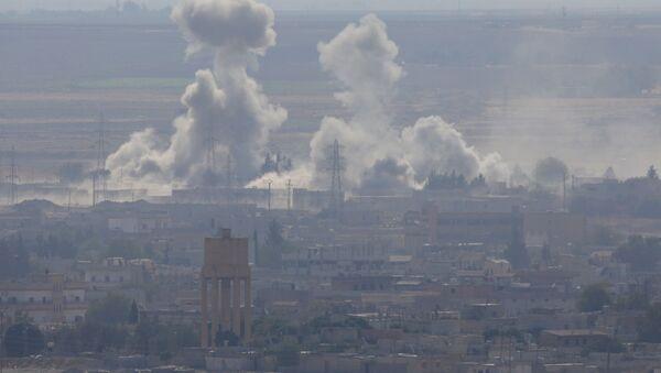 Bombardeos turcos en Siria - Sputnik Mundo