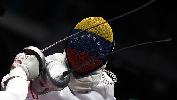 Rubén Limardo, el esgrimista venezolano  - Sputnik Mundo