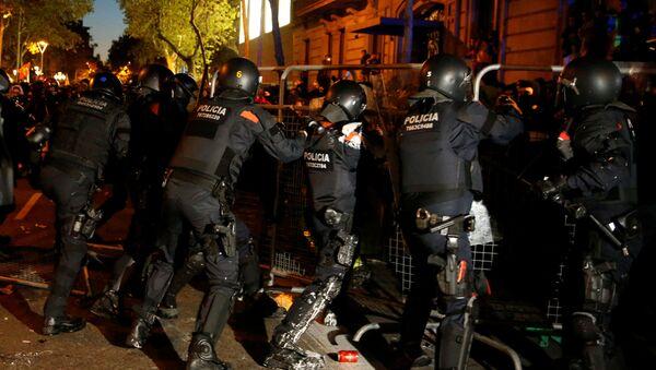 La Policía catalana - Sputnik Mundo