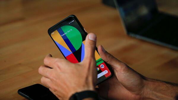 Presentación del teléfono inteligente Google Pixel 4 - Sputnik Mundo