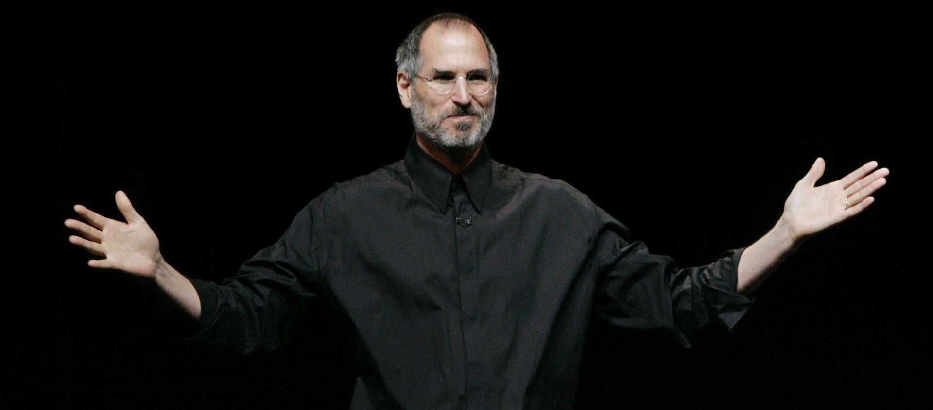 Steve Jobs, cofundador de Apple - Sputnik Mundo, 1920, 03.01.2021