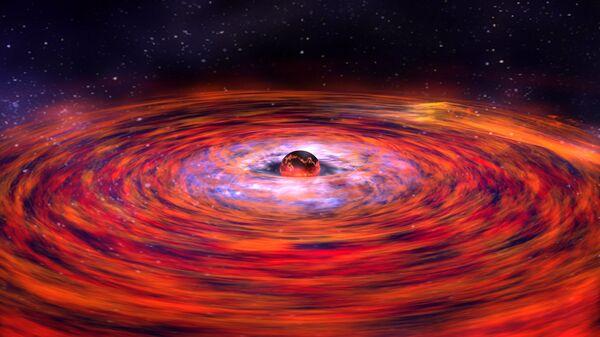 La explosión de una estrella de neutrones - Sputnik Mundo