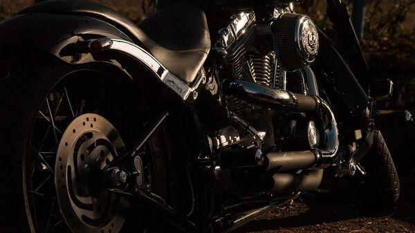 Una motocicleta. Imagen referencial - Sputnik Mundo