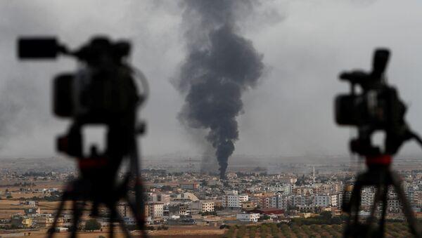 La operación militar turca en Siria - Sputnik Mundo