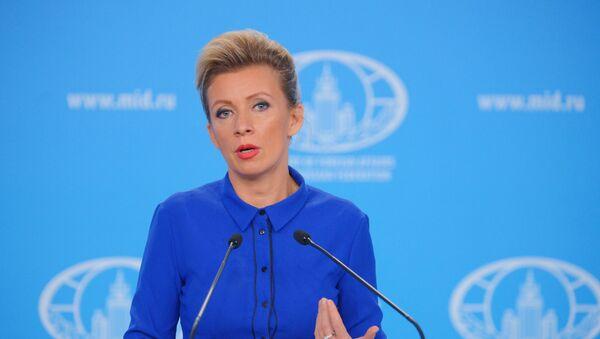 Maria Zajárova, la portavoz de la Cancillería rusa - Sputnik Mundo