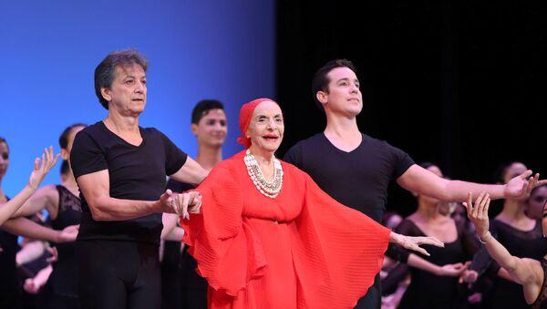 Alicia Alonso, bailarina cubana y figura emblemáticas de la danza clásica - Sputnik Mundo