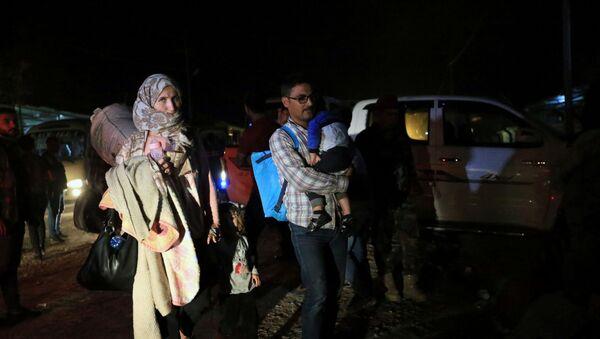 Refugiados sirios en Irak - Sputnik Mundo