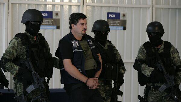 La operación de captura del hijo de 'Chapo' Guzmán en México - Sputnik Mundo
