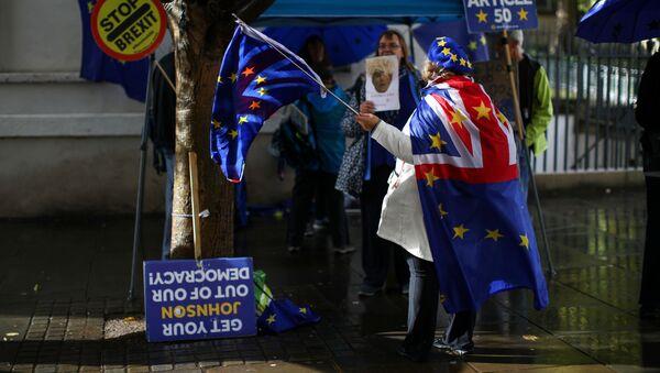 Manifestaciones contra el Brexit - Sputnik Mundo