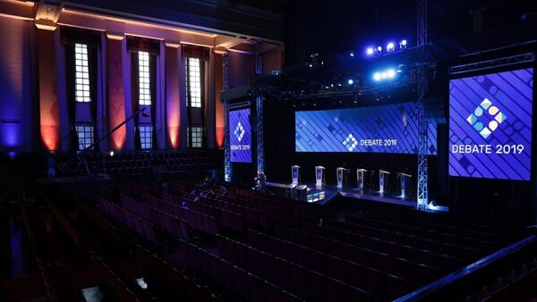 Segundo debate presidencial en Argentina - Sputnik Mundo