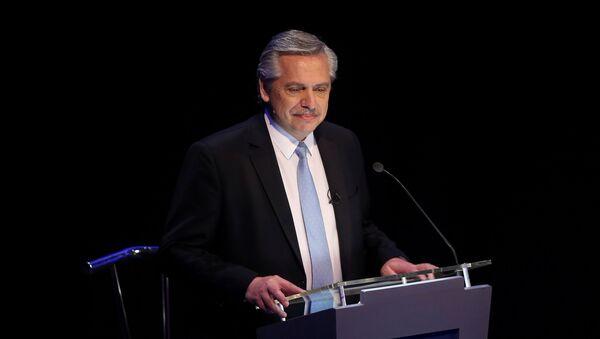 Alberto Fernández, líder de la oposición y candidato a presidente en Argentina - Sputnik Mundo