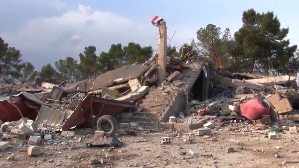El Ejército sirio entra en la base abandonada por EEUU - Sputnik Mundo