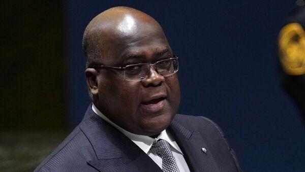 Félix Tshisekedi, presidente de la República Democrática del Congo (RDC) - Sputnik Mundo
