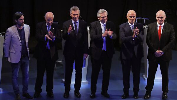 Los candidatos a la Presidencia de Argentina  - Sputnik Mundo
