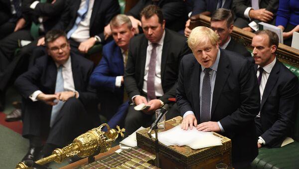 El primer ministro británico, Boris Johnson - Sputnik Mundo