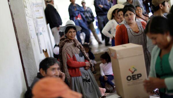 Elecciones presidenciales en Bolivia - Sputnik Mundo