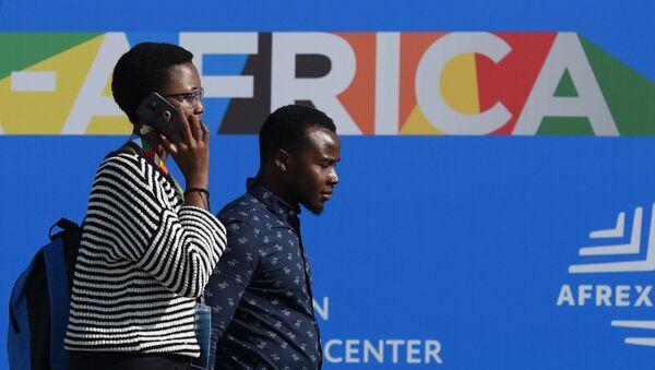 Participantes de la cumbre Rusia-África - Sputnik Mundo