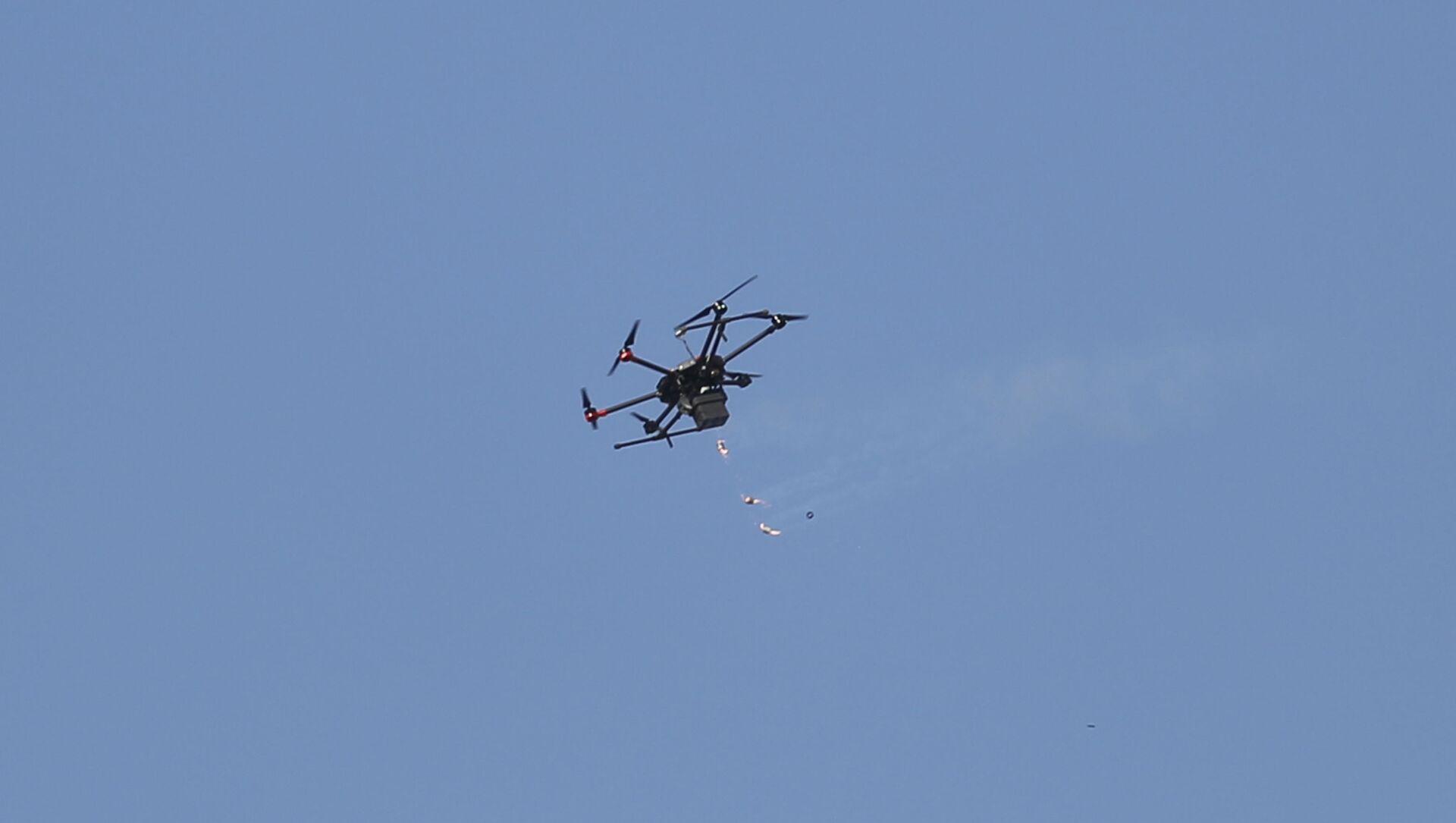 Un dron israelí - Sputnik Mundo, 1920, 01.02.2021