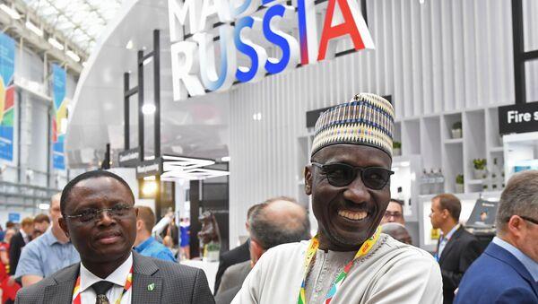 Los visitantes de la cumbre Rusia-África en Sochi - Sputnik Mundo