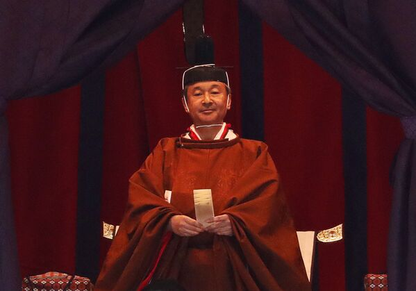 El nuevo emperador de Japón asciende el trono - Sputnik Mundo