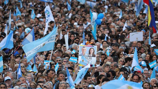 La campaña electoral en Argentina - Sputnik Mundo