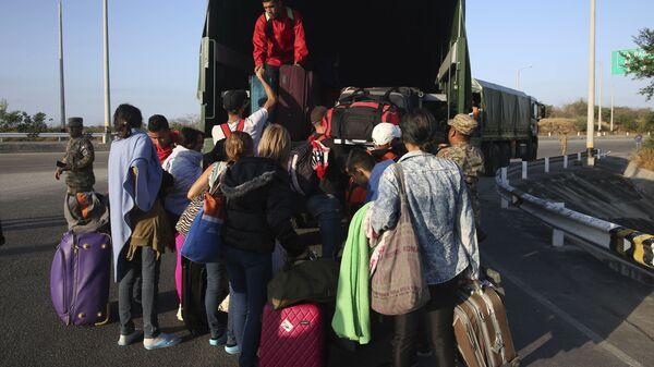 Migrantes venezolanos en Perú - Sputnik Mundo