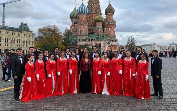 Coro Polifónico UTE en Moscú - Sputnik Mundo