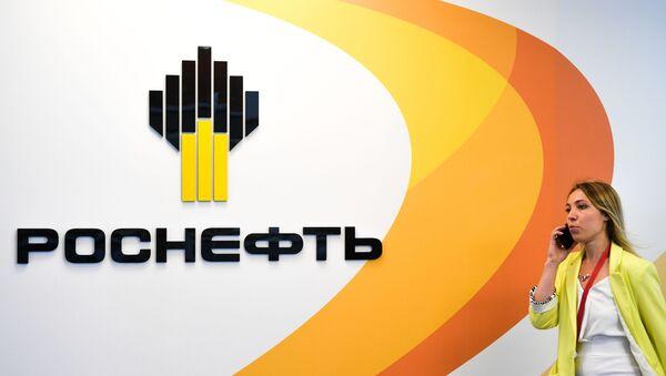 El logo de Rosneft - Sputnik Mundo