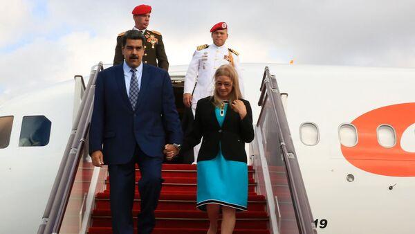 Presidente de Venezuela, Nicolás Maduro, arriba a Bakú - Sputnik Mundo