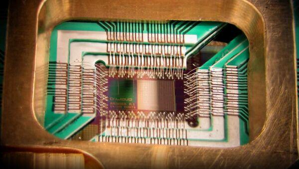 Un procesador cuántico, imagen referencial - Sputnik Mundo