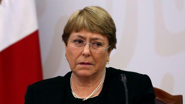 Michelle Bachelet, Alta Comisionada de la ONU para los DDHH - Sputnik Mundo
