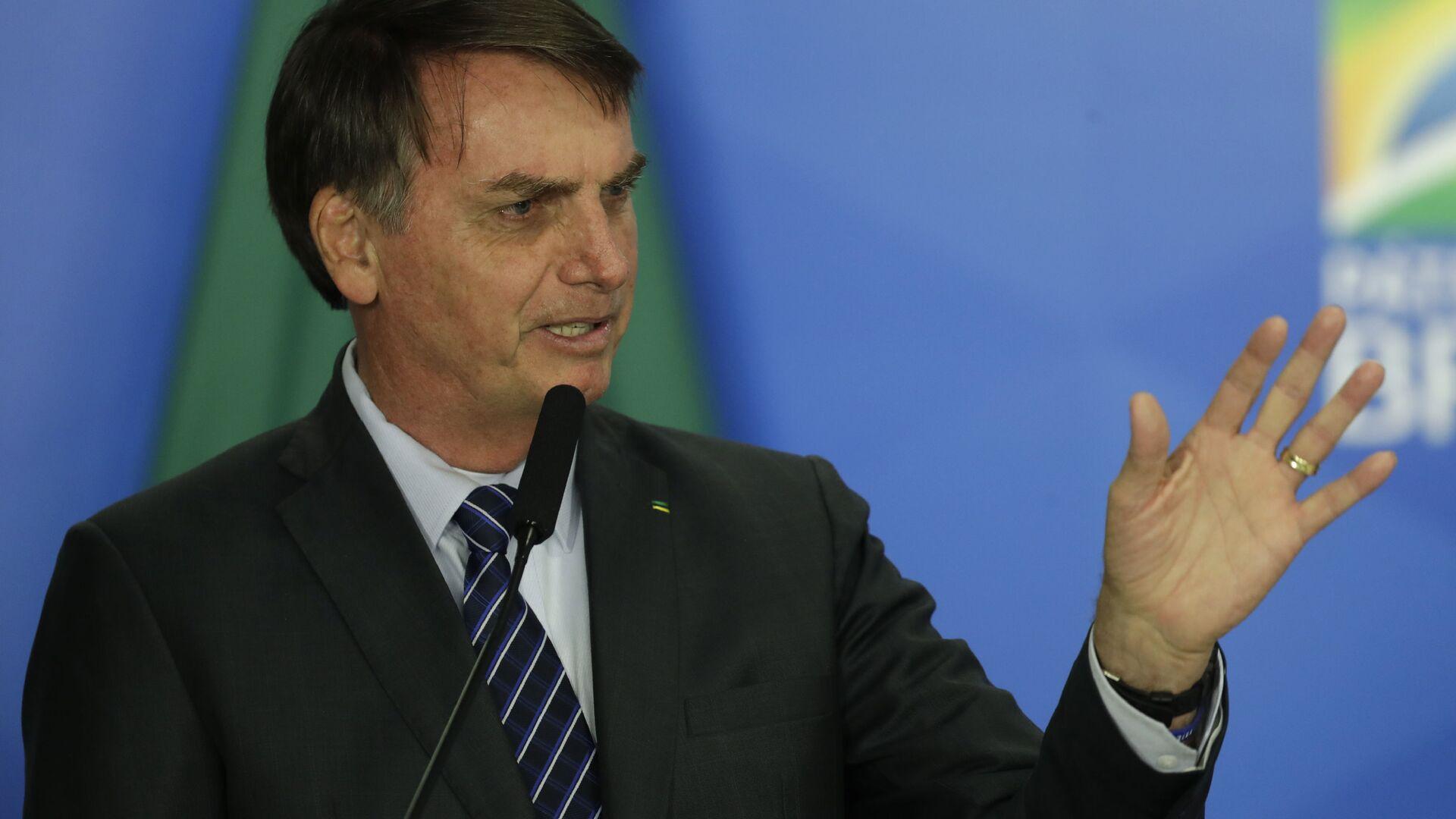Jair Bolsonaro, el presidente de Brasil - Sputnik Mundo, 1920, 06.08.2021
