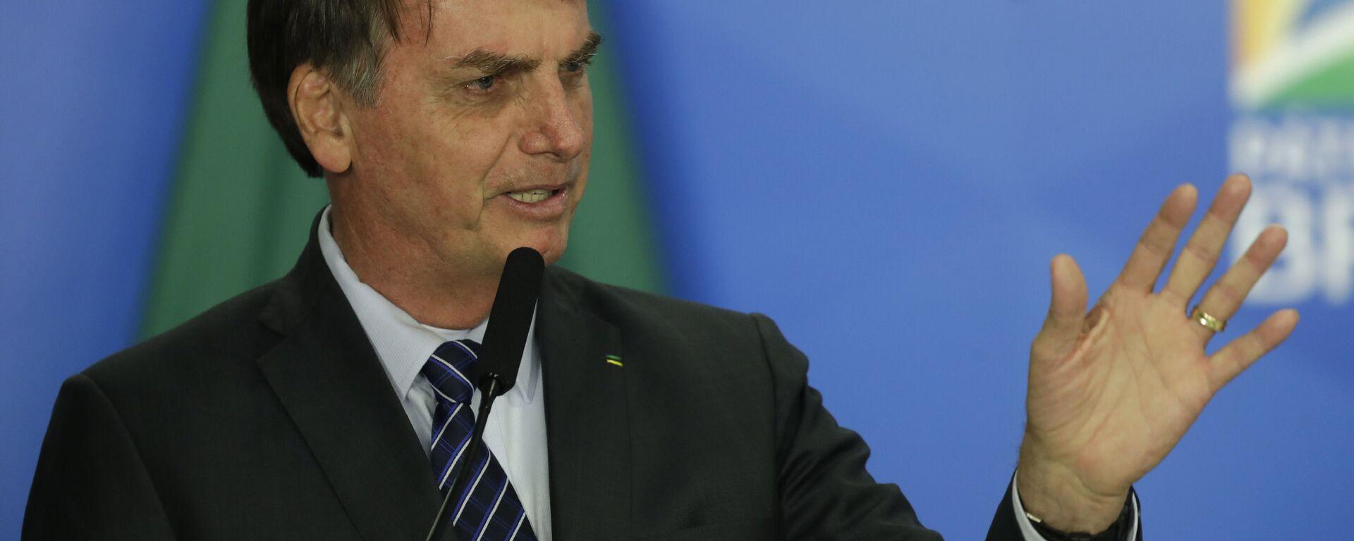 Jair Bolsonaro, el presidente de Brasil - Sputnik Mundo, 1920, 13.10.2021