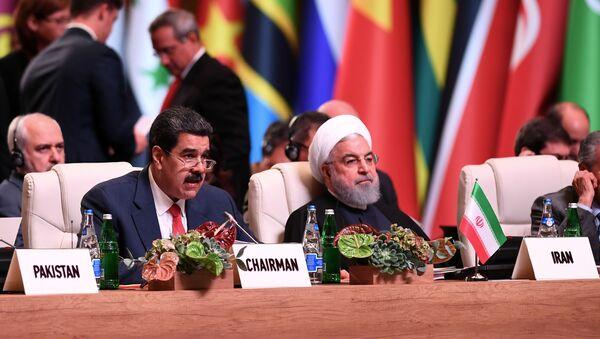 La XVIII cumbre del Movimiento de los Países No Alineados (Mnoal) en Bakú - Sputnik Mundo