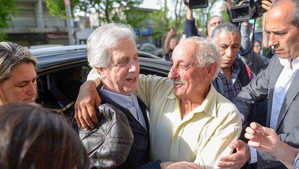Tabaré Vazquez, presidente de Uruguay - Sputnik Mundo