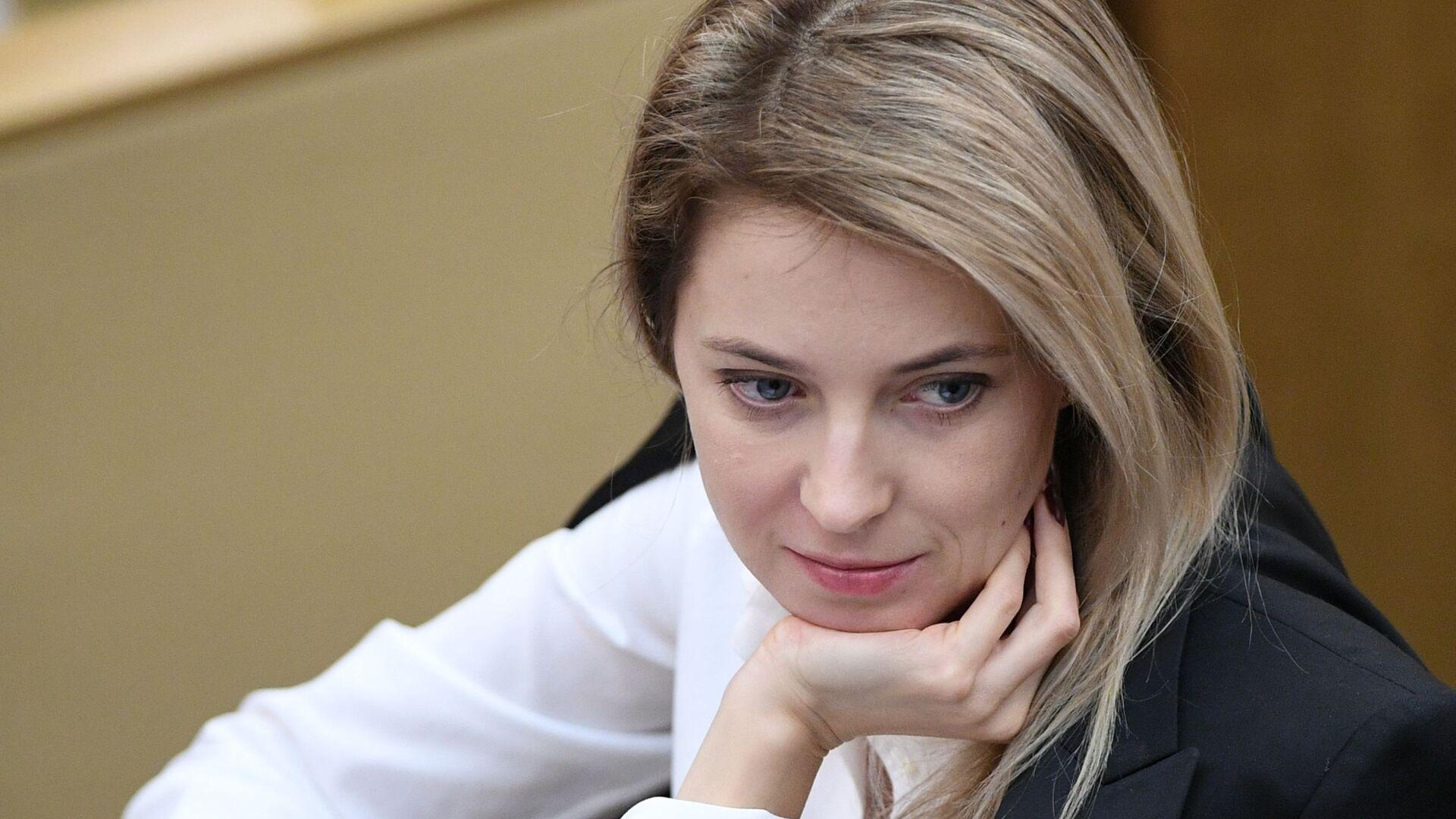 Natalia Poklónskaya, diputada de la Duma Estatal, Cámara Baja del Parlamento ruso - Sputnik Mundo, 1920, 13.10.2021