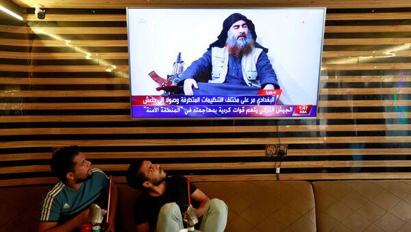 Abu Bakr Bagdadi, líder del grupo terrorista ISIS - Sputnik Mundo