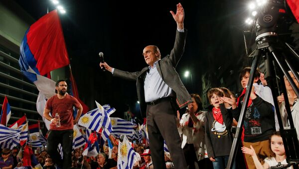 Daniel Martínez, candidato presidencial uruguayo - Sputnik Mundo